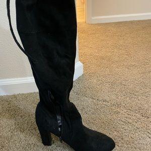 Knee high boots